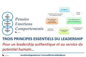 Couverture article sur 3 principes du leadership
