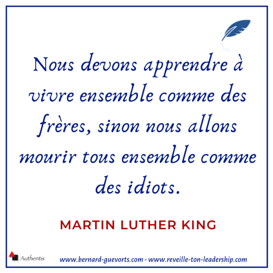 Citation Martin Luther King
