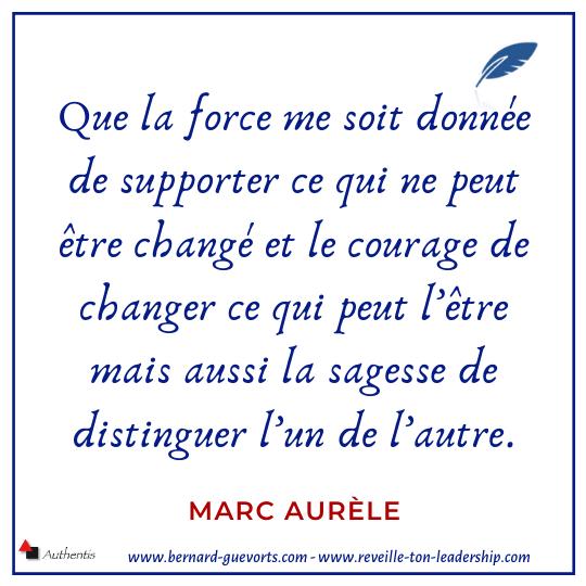 Citation de Marc Aurele