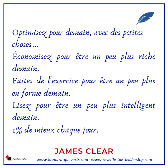 Citation de James Clear
