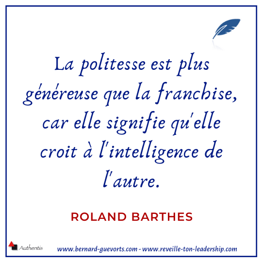 Citation sur la politesse