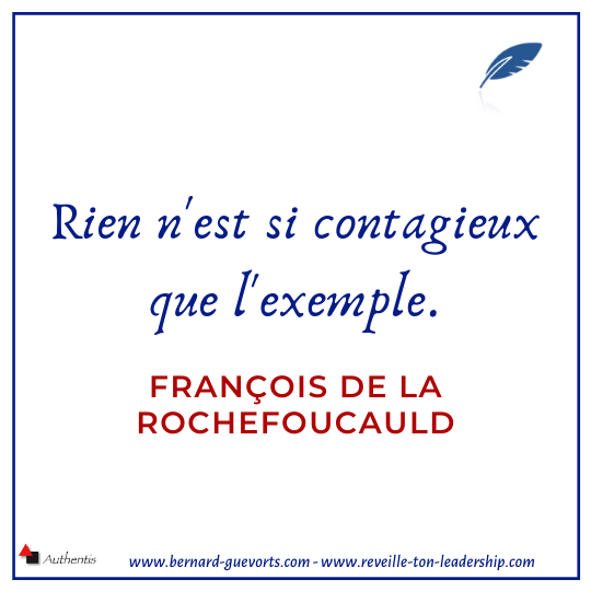Citation sur l'exemple La Rochefoucauld