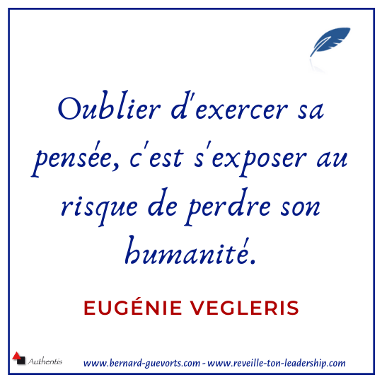 Citation d'Eugénie Vegleris