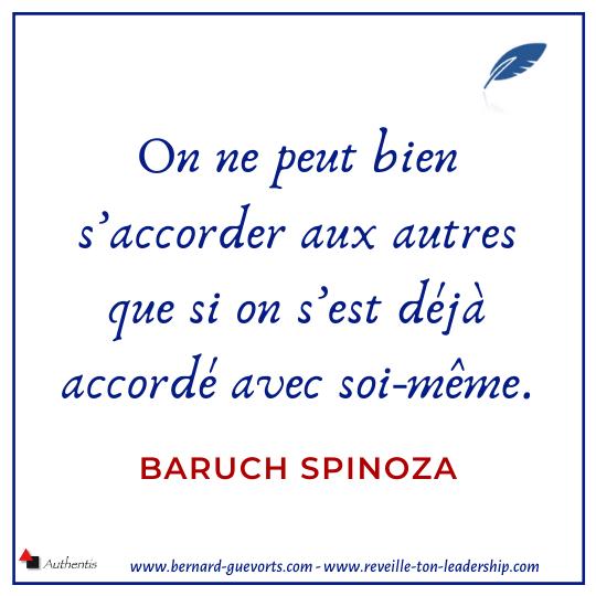 Citation sur la liberté de Spinoza