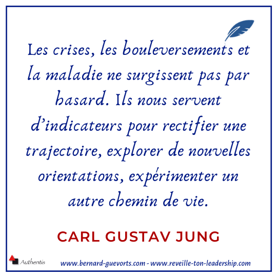 Citation de C G Jung sur la crise