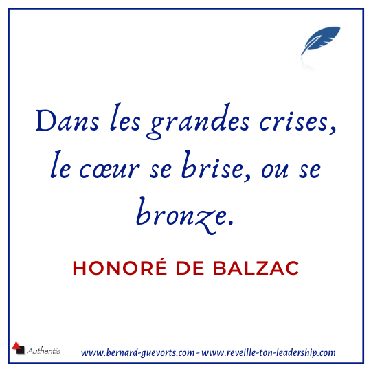 Citation de Balzac sur la crise