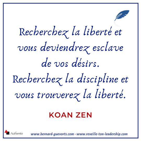 Koan Zen sur la liberté