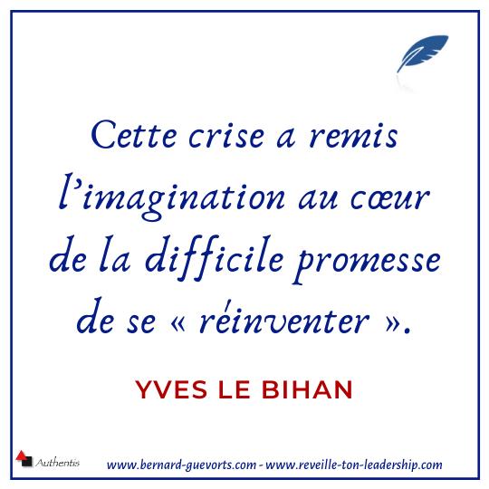 Citation de Yves Le Bihan sur la crise