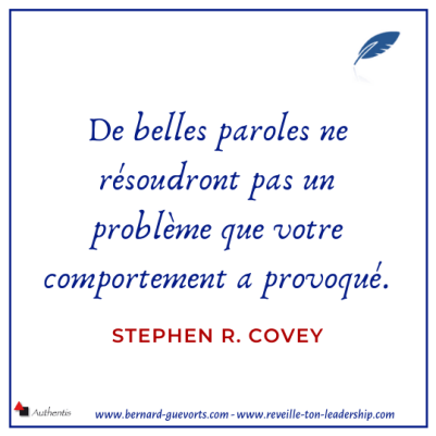 Citation de Stephen Covey sur la réputation