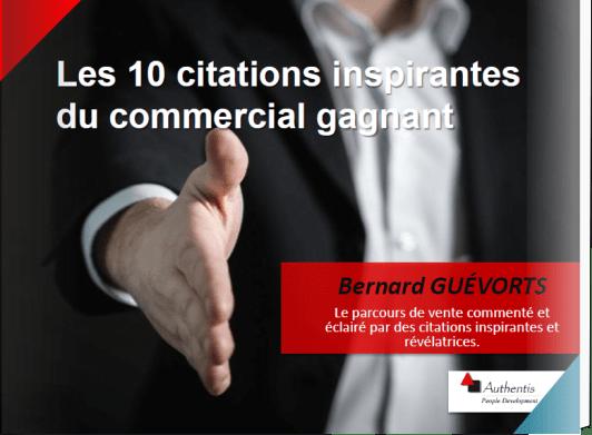 Couverture ebook citations pour commerciaux