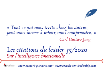 Couverture des citations du leader 35 sur l'intelligence émotionnelle