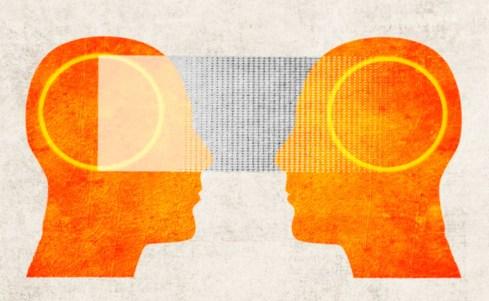 La connexion de deux cerveaux