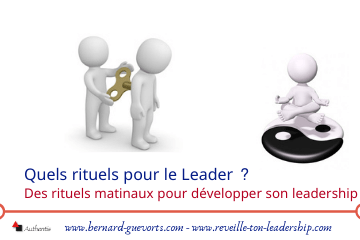 couverture article rituels du leader