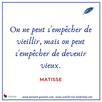 Citation de Matisse sur jeunesse
