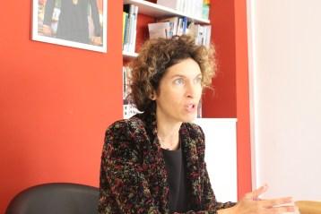 Ministra de Asuntos Exteriores de Andorra Maria Ubach Font. Foto Marcela Torres