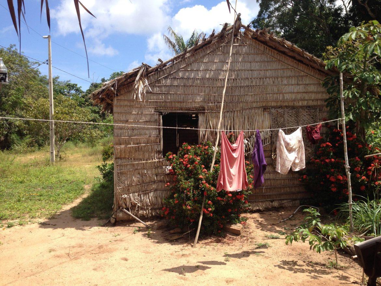 Habitação tipica. Foto Livia Mata