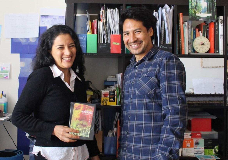 Malena Martínez y Rodrigo Ruíz. Foto: Marcela Torres