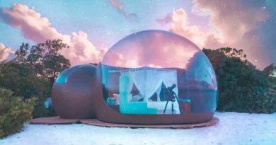 Las suites de burbuja del Beach Bubble Hotel llegarán a Campeche