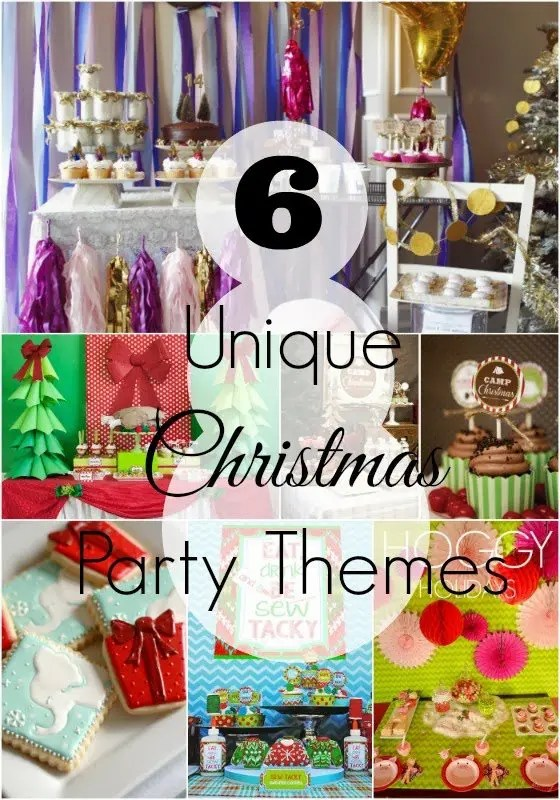 unique christmas party themes