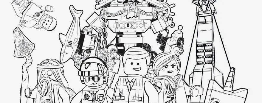 The LEGO Movie Watching Party Ideas Coloring Pages Head To Site And Download Fun