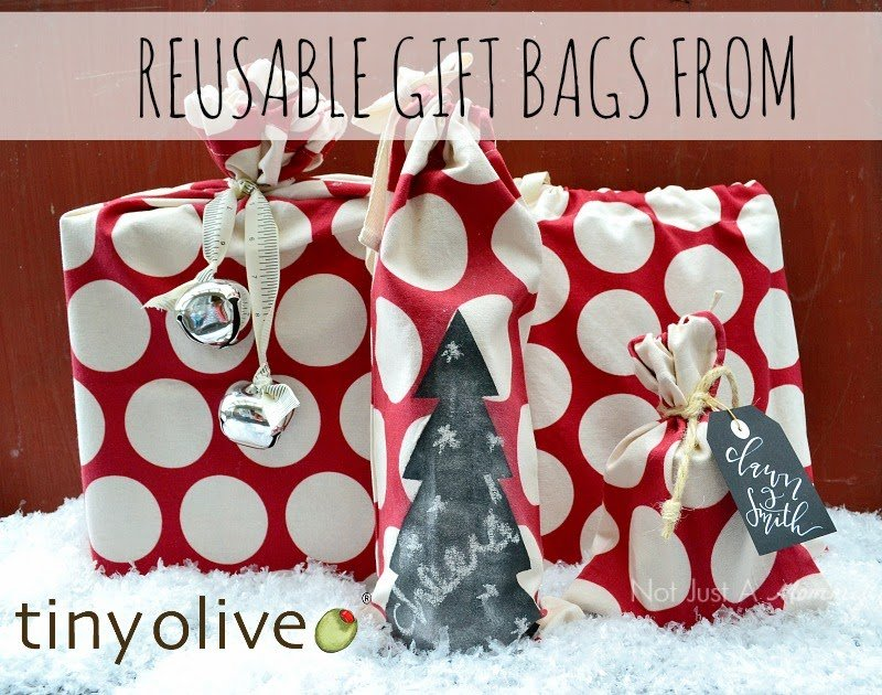 Tuesday Tip - Reusable Gift Bags With Tiny Olive + A Giveaway ...