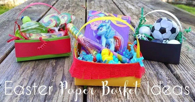 Easter Paper Basket Ideas