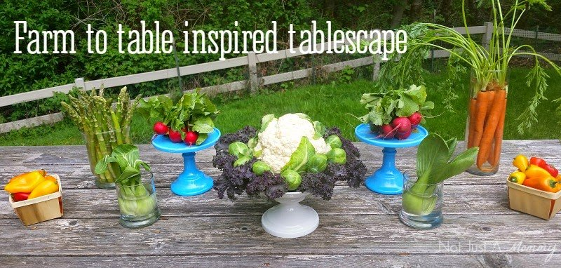 Farm To Table Inspired Tablescape - Revel and Glitter