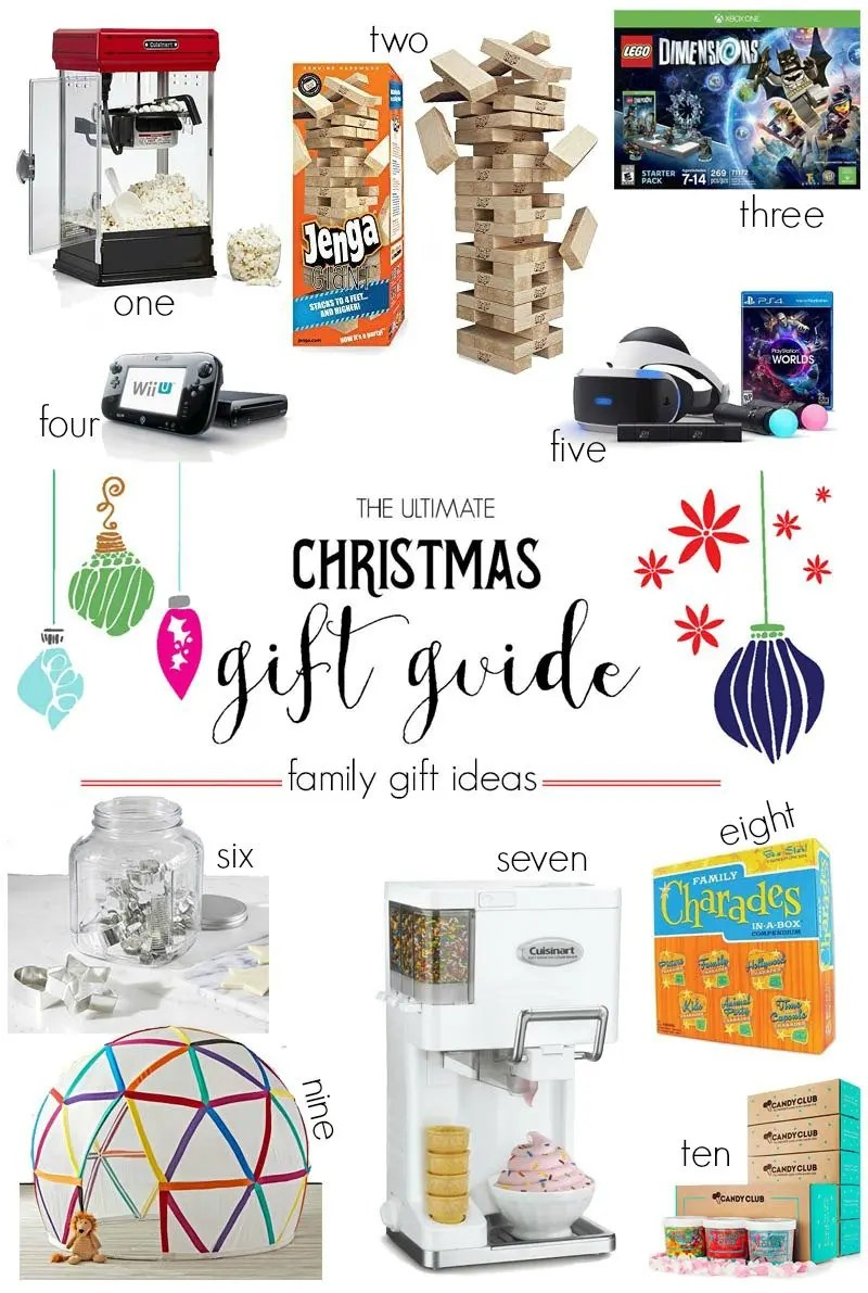 The Ultimate Christmas Gift Guide: Family Gift Ideas - Revel and Glitter