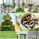 Entertaining with PANTONE Color Of The Year 2017 Greenery
