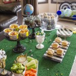 How to score with a soccer tournament watching party; lots of great food ideas