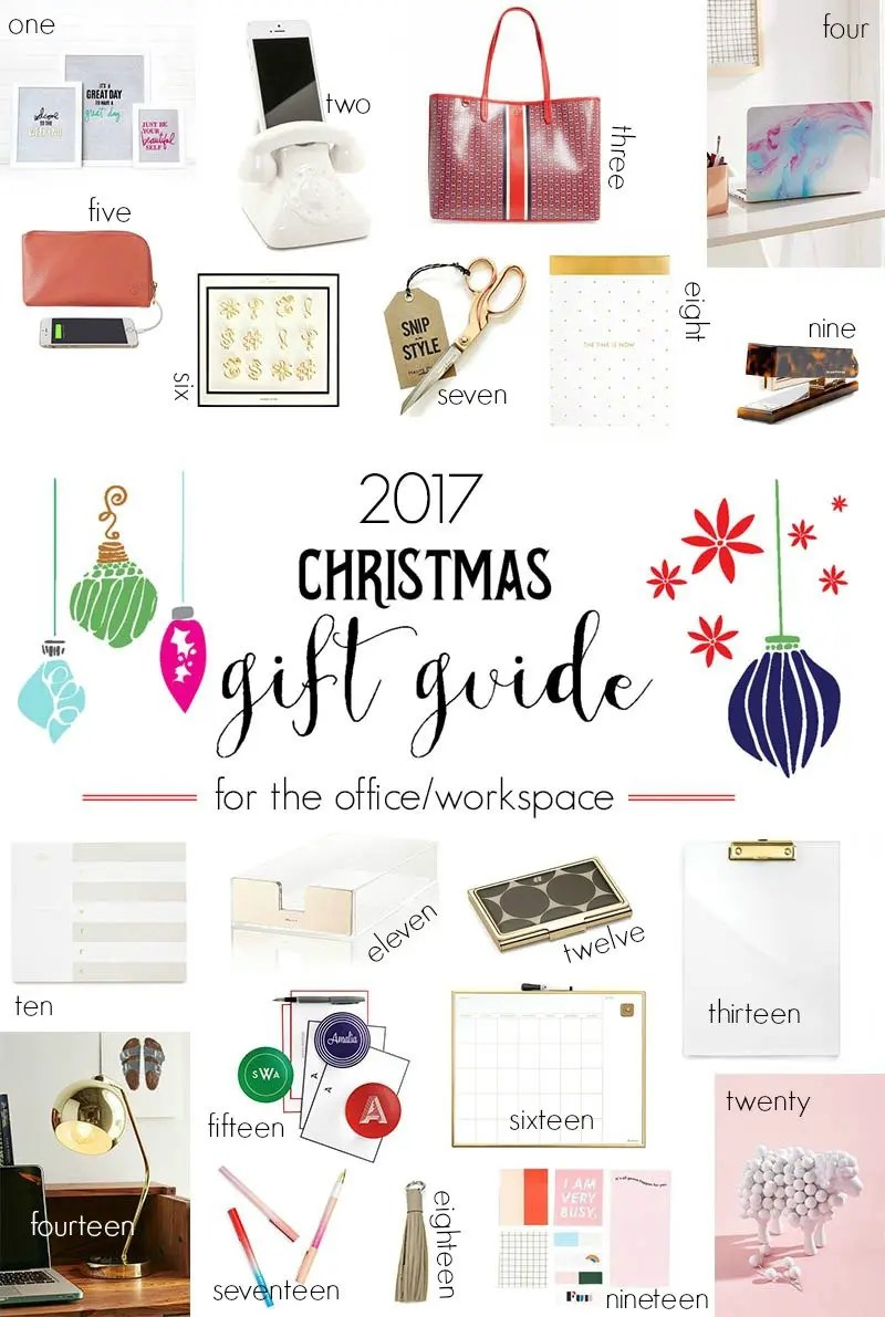 2017 Christmas Gift Guide For The Office Workspace