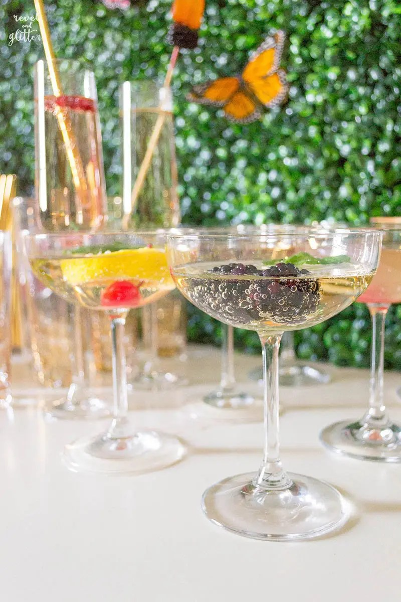 Mocktail Bar A Surprise Virtual Baby Shower Revel And Glitter