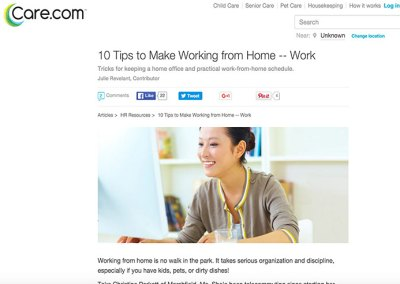 Care.com: Making Working From Home Work