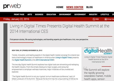 Living in Digital Times: Press Release