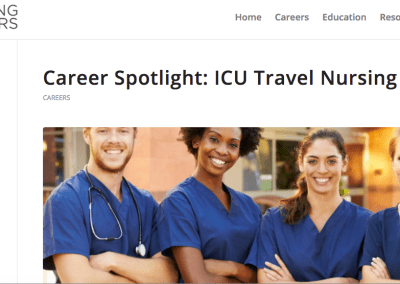 Wiley: ICU Nursing Careers Article