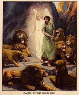 Daniel among the Lions