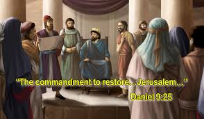 Decree to restore Jerusalem