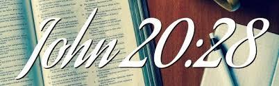 John 20 28