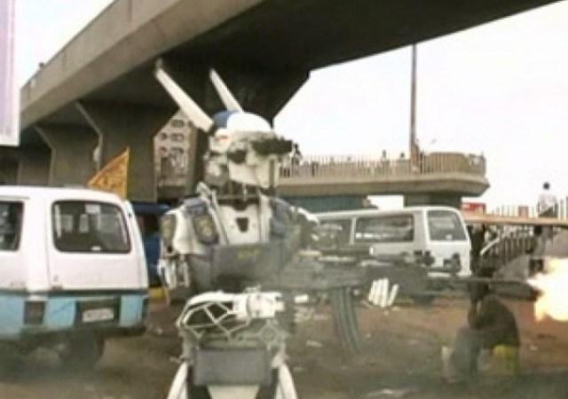 Future Police Robot