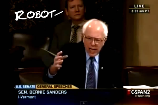 Human Robot in the Senate?