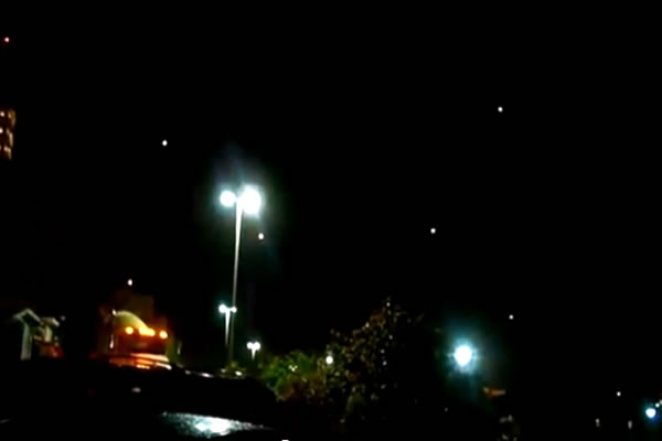 Cancun, Mexico:Night Time UFO Squad