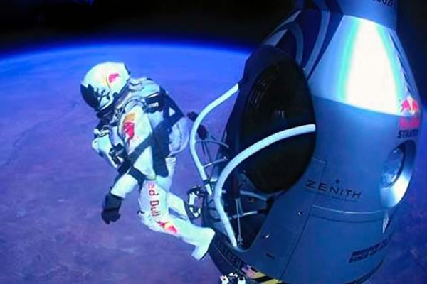 Occult Connection to Space Jump?