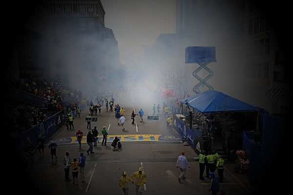 Boston Marathon Bombs: Fingerprint of Dark Forces?