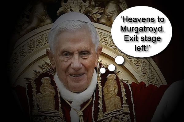Real Reason Pope Benedict Resigned