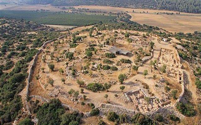 ONE of the PALACES of KING DAVID Found!