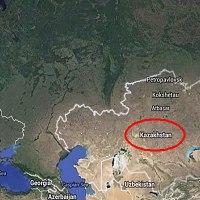 Google Earth: HUGE Pentagram in Kazakhstan!