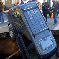 The Bible, Trumpet Sounds, and Sinkholes