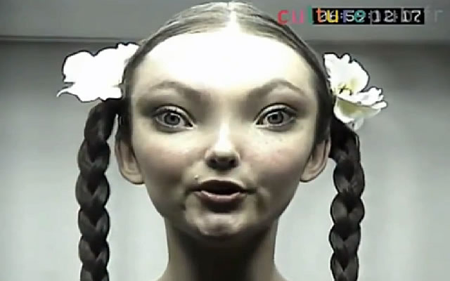 Human Woman Mixed with Grey Alien?