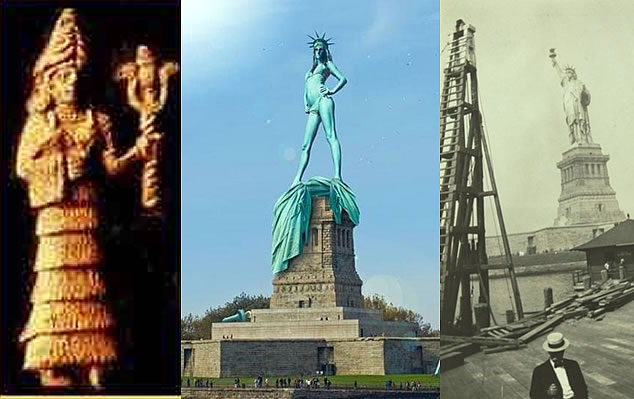 Is the Statue of Liberty a Ho?