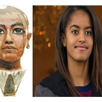 Ancient Egyptian Doppelganger of Malia Obama